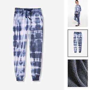 NWT VS PINK Vintage Tie Dye Skinny Jogger M L